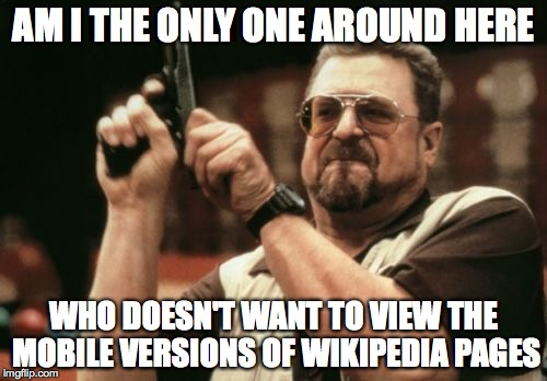 pt2oc every time i click on a wikipedia link! imgflip