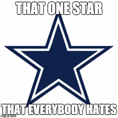 Dallas Cowboys Logo Blank Template Imgflip