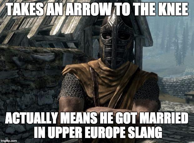pz75x skyrim guards be like latest memes imgflip