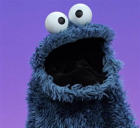 Cookie Monster Blank Template Imgflip