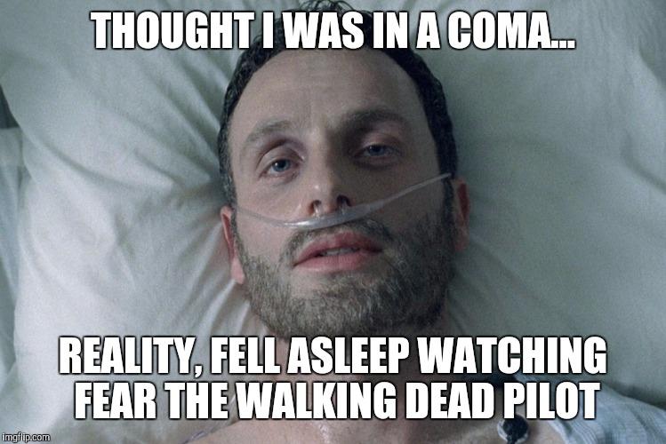 Bildresultat för a walking dead meme