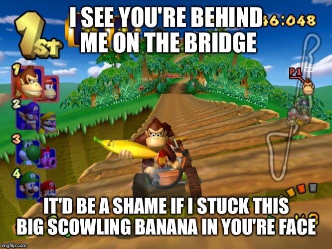Mario Kart Banana Imgflip