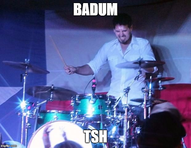 BADUM TSH | image tagged in badum tsh | made w/ Imgflip meme maker
