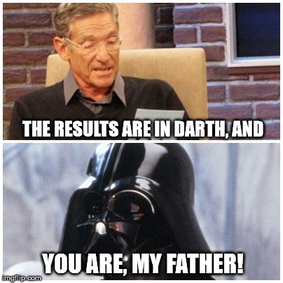 q9rmf image tagged in darth vader,jerry springer,funny,funny memes,top,The Newest Funny Memes