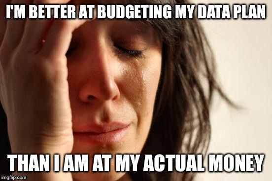 Image result for budgeting meme