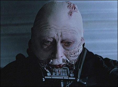 Darth Vader Helmet Off Blank Template Imgflip
