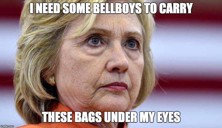 qeaxs hillary clinton bags imgflip
