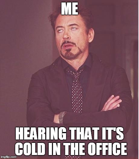 Freezing Office Meme Related Keywords - Freezing Office ...