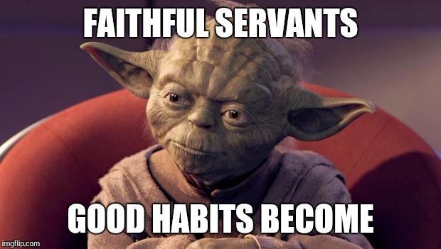 Výsledek obrázku pro good habit meme