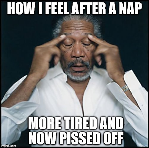 Image result for morgan freeman tired