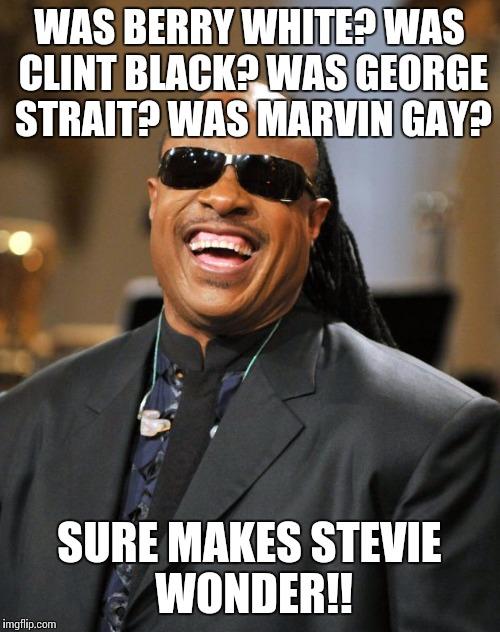 qo5pj stevie wonder imgflip,George Strait Meme
