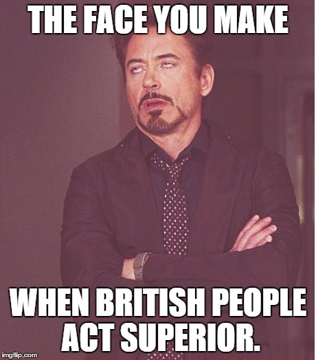 british people British people are ugly man i just got back from the uk and i have to say i've never been surrounded by so much hideous motherfuckers in my life.