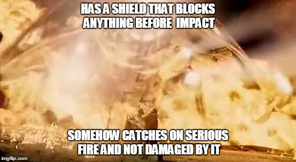Tripod Needs Bugfix | HAS A SHIELD THAT BLOCKS ANYTHING BEFORE  IMPACT SOMEHOW CATCHES ON SERIOUS FIRE AND NOT DAMAGED BY IT | image tagged in war of worlds,tripod,aliens | made w/ Imgflip meme maker