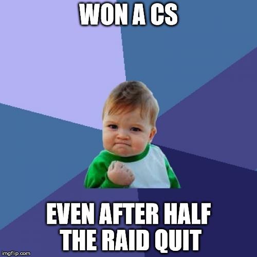 Success Kid Meme Blank Template