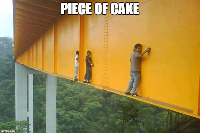 PIECE OF CAKE | made w/ Imgflip meme maker
