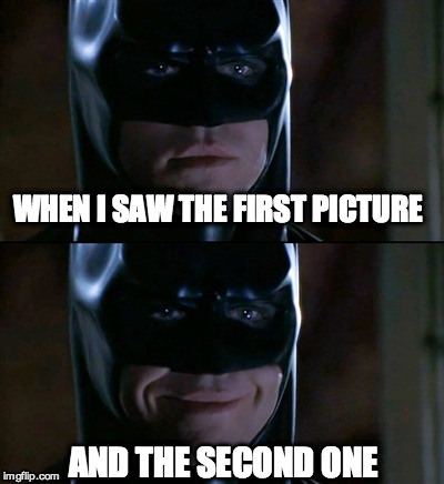 WHEN I SAW THE FIRST PICTURE AND THE SECOND ONE | image tagged in nm | made w/ Imgflip meme maker
