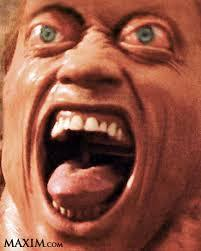 Total recall scream face Meme Template