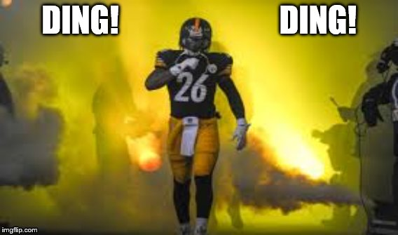 Time for Le'veon Bell | DING!                          DING! | image tagged in cowbell | made w/ Imgflip meme maker