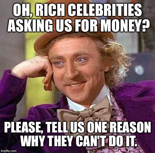 Best Celebrities to Ask for Money - Top 5 | Find Some Money