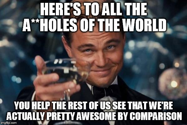You Re Awesome Funny Memes : Leonardo dicaprio cheers meme imgflip