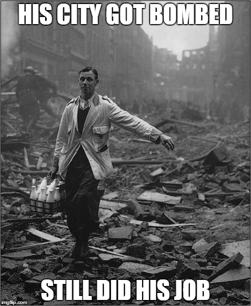 Still did his job | HIS CITY GOT BOMBED STILL DID HIS JOB | image tagged in political | made w/ Imgflip meme maker