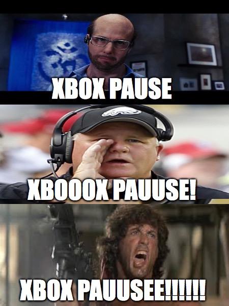 Funny Xbox 360 Memes : Xbox pause imgflip