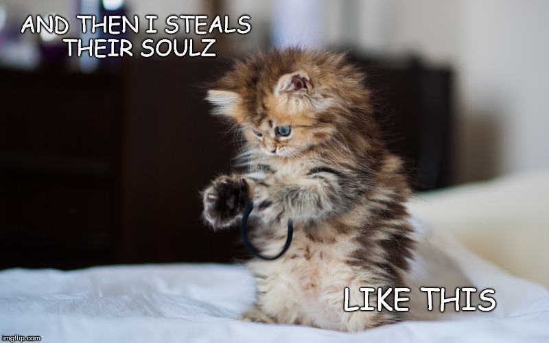 "So much ""aww!"", it must be evil!! 