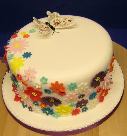 Birthday Butterfly Cake Blank Template Imgflip