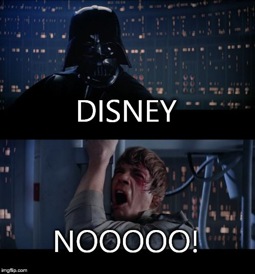 Star Wars No Meme | DISNEY NOOOOO! | image tagged in memes,star wars no | made w/ Imgflip meme maker