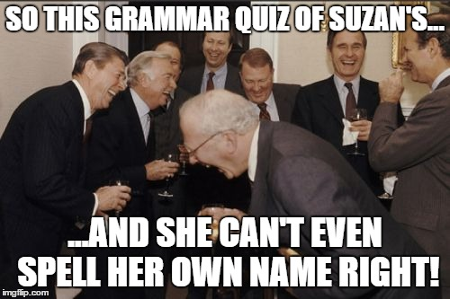 Grammar quiz again - fun with this ridiculous language, answers