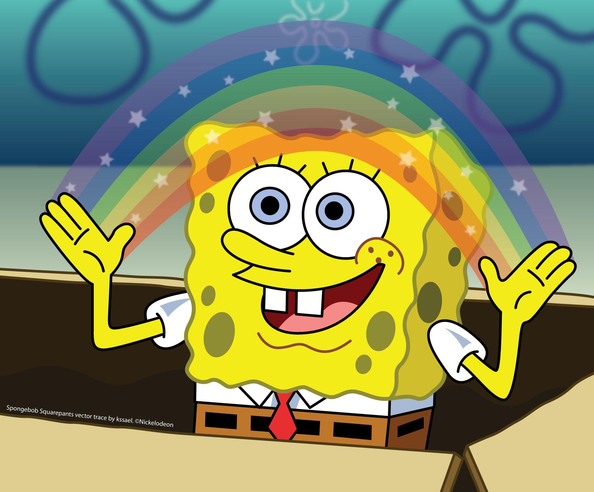 Spongebob Squarepants Blank Template Imgflip
