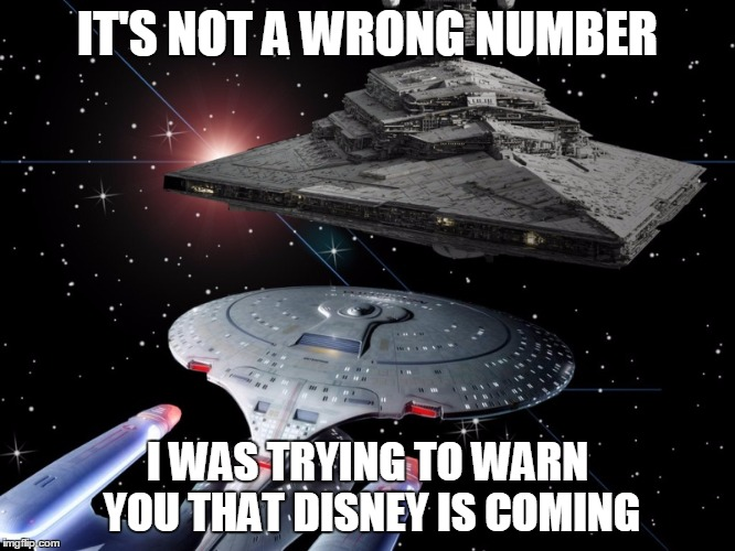 IT'S NOT A WRONG NUMBER I WAS TRYING TO WARN YOU THAT DISNEY IS COMING | made w/ Imgflip meme maker