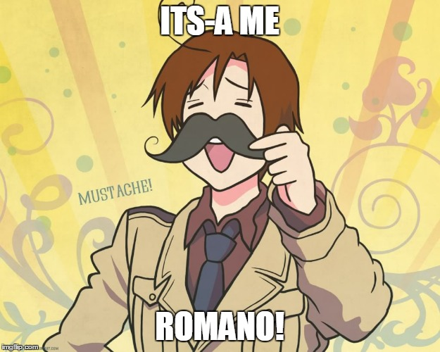 romano | ITS-A ME ROMANO! | image tagged in romano | made w/ Imgflip meme maker