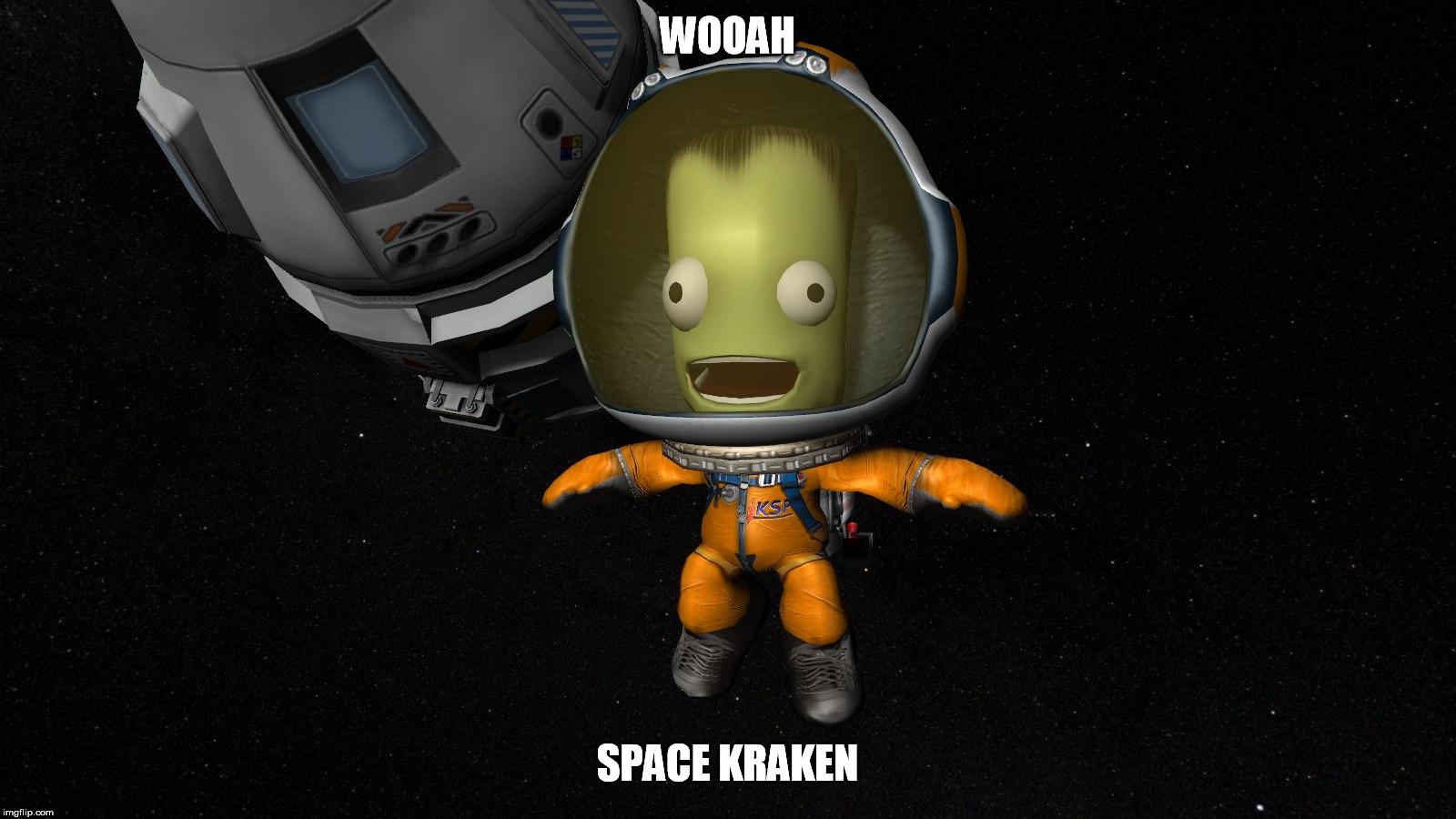 kerbal in space suit - photo #1