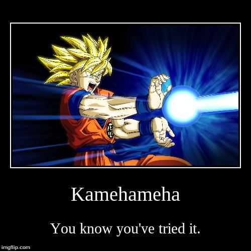 how to make a kamehameha