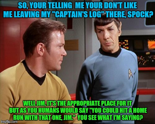 """Captain's Log""  Part: 2 