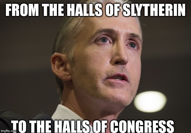 Image result for trey gowdy drago meme