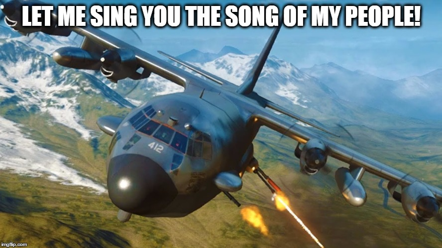 sing the song of my people - Imgflip