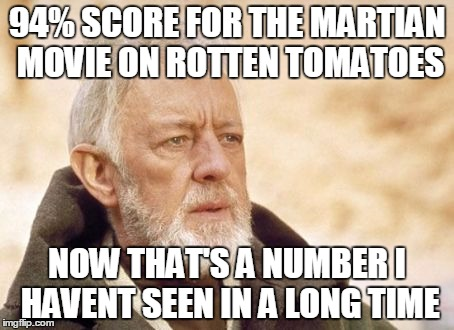 Friend Invited Me To Watch The Martian Movie Then I Googled It