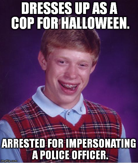 "Last year I made a ""dresses up as X"" BLB meme and it started a string of them. I say we should revive the trend. 