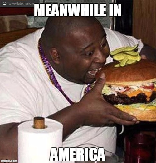 MEANWHILE IN AMERICA | made w/ Imgflip meme maker
