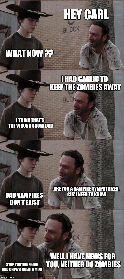 Rick And Carl Long Latest Memes Imgflip