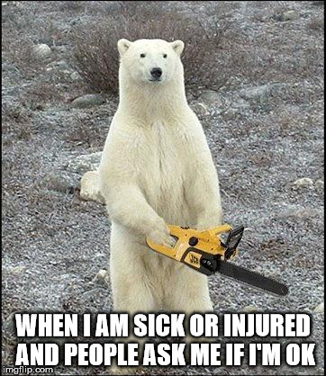 Chainsaw Polar Bear Imgflip