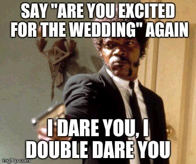 sem47 getting married in a week imgflip