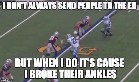 Julian Edelman breaks Morris Clayborn's ankles | image tagged in new england patriots,patriots,nfl,dallas cowboys,funny memes,tom brady | made w/ Imgflip meme maker