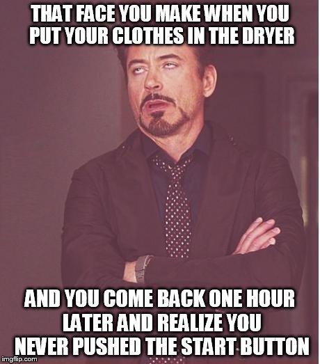 Put Your Clothes Away Meme ~ Face you make robert downey jr meme imgflip