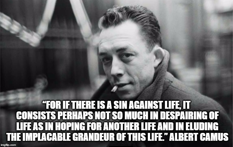 the philosophy of suicide albert camus The problem of suicide is one of the most complex and debated issues of  it is  also the central question put in the albert camus essay, the myth of sisyphus   it is worth living or not to live is to answer the basic question of philosophy.