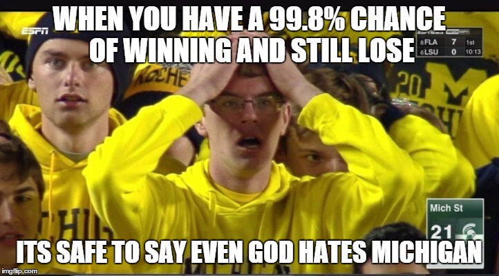 sqere stunned michigan fan meme generator imgflip,Michigan Meme