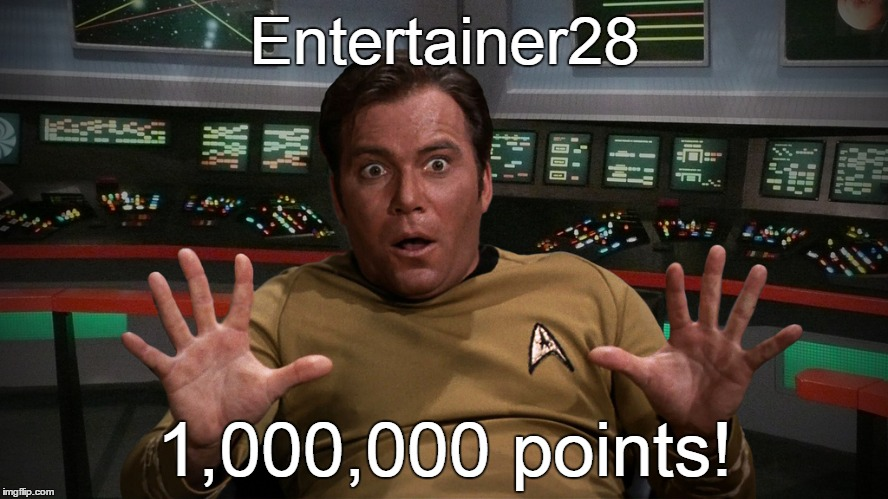 So a little bit of imgflip history was made yesterday | Entertainer28 1,000,000 points! | image tagged in memes,leaderboard,million points,entertainer28,imgflip user,high score | made w/ Imgflip meme maker