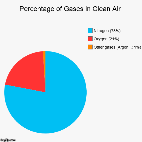 Percentage Of Gases In Clean Air Imgflip